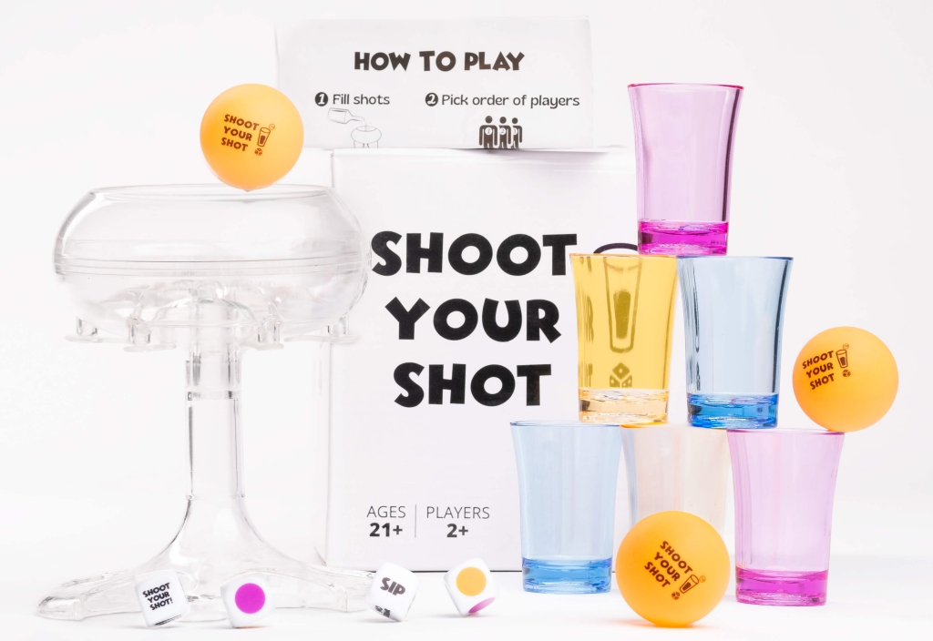 Shoot your shot party game